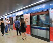 Chinatown MRT Station Singapore.