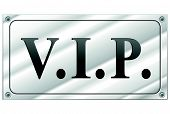 Vector Vip Sign