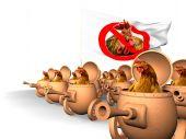 Chauvinismo. Revolta da galinha