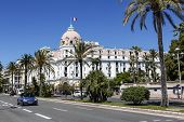 The Hotel Negresco In Nice In France