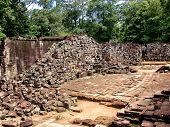 Ancient ruins in Cambodia