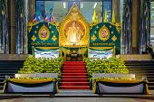 The Celebration Of The Birthday Of Thai King Bhumibol