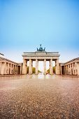 Pariser Platz And Brandenburger Tor In Berlin
