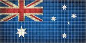 Australian Flag Mosaic