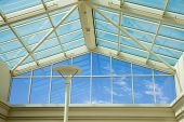Glass Ceiling - Blue Sky