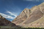 Huge Majestic Mountains Along Manali - Leh Road