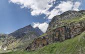 Rocky Himalayan Mountains