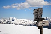 Mountain Signposts