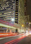 King Street Toronto At Night
