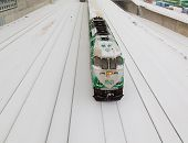 Go Train In The Snow