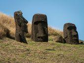 Three Moai