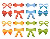 The collection of flat bow