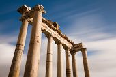 Temple Of Saturn At The Forum Romanum