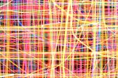 Abstract Colorful Lines Background