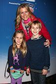 LOS ANGELES - DEC 11:  Alison Sweeney, Ben Sanov, Megan Sanov at the
