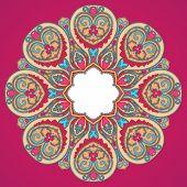 Round Pink Pattern