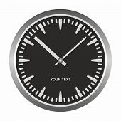 pic of analog clock  - Clock icon as a symbol of clock - JPG