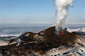 image of magma  - Beautiful nature of Kamchatka - JPG