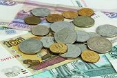 Banknotes Coins Rubles