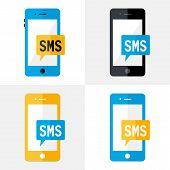 Sms Mobile Flat Set