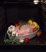 Chicken Cooked In The Oven