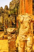 Statues in Angkor Wat Temple