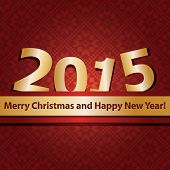 New year 2015 design template