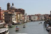 View Of Venice From Ponte Degli Scalzi