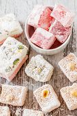Assortment Of Turkish Delight