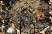Venice Carnival mask, Moon shaped