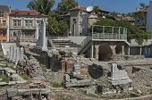 image of northeast  - The ancient stadium Philipopolis in Plovdiv - JPG