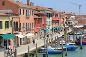 Murano main promenade, Italy