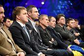 Vitali Klitschko and Sergey Bubka