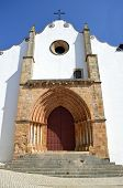 Silves Cathedral in the Algarve, Portugal