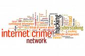 stock photo of malware  - Internet crime  - JPG
