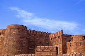 pic of india gate  - Front view of the Red Fort - JPG