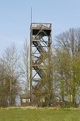 picture of observed  - The Venner observation tower on Ostercappeln  - JPG