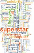 picture of superstars  - Background text pattern concept wordcloud illustration of superstar - JPG