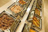 foto of buffet lunch  - The food buffet in restaurant - JPG