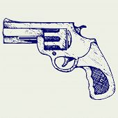 pic of pistols  - Old pistol - JPG