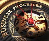 foto of watch  - Business Processes on Black - JPG