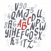 picture of letter  - Alphabet - JPG