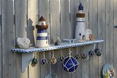 Nautical Garden Shelf