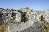 image of megaliths  - 5000 year old Cloughanmore megalith in Glencolmcille in Co - JPG