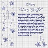 foto of olive branch  - Vector illustration - JPG