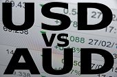 pic of trade  - US dollar versus Australian dollar  - JPG