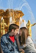 Love At A Fountain