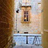 foto of gozo  - Backstreet in the beautiful island of Gozo - JPG
