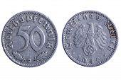 Deutches Reich Münzen Makro