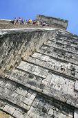 Climbing Chitchen Itza